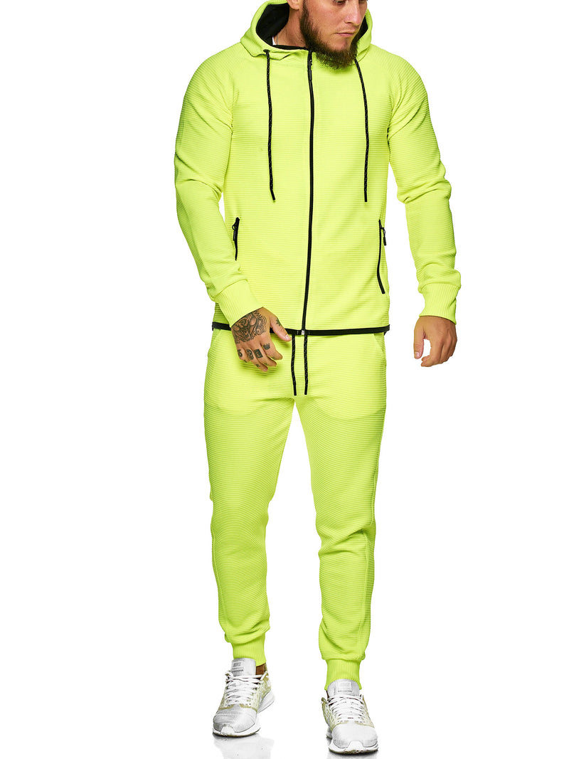 Flot Hoodie TrackSuit - Neon X72A