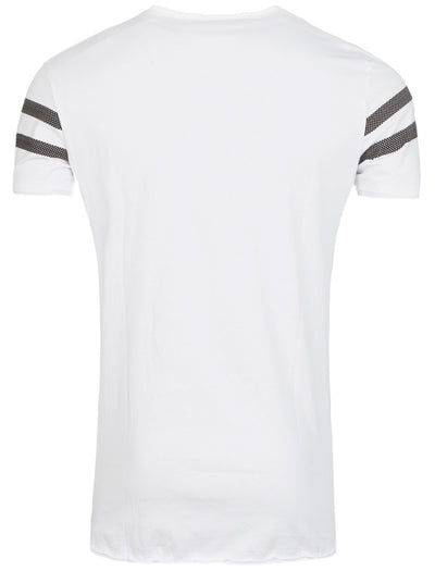 Y&R Men Japan 1 Graphic T-Shirt - White