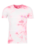 Y&R Men Tie Dyed Pocket T-shirt - Pink