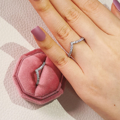 925 Sterling Silver Aria Ring