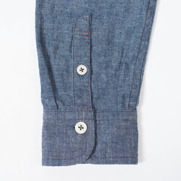 Chambray Band Collar SH