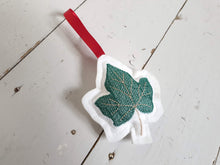 Load image into Gallery viewer, Felt 3D Embroidered Festive Christmas Decoration With Satin Hanging Ribbon