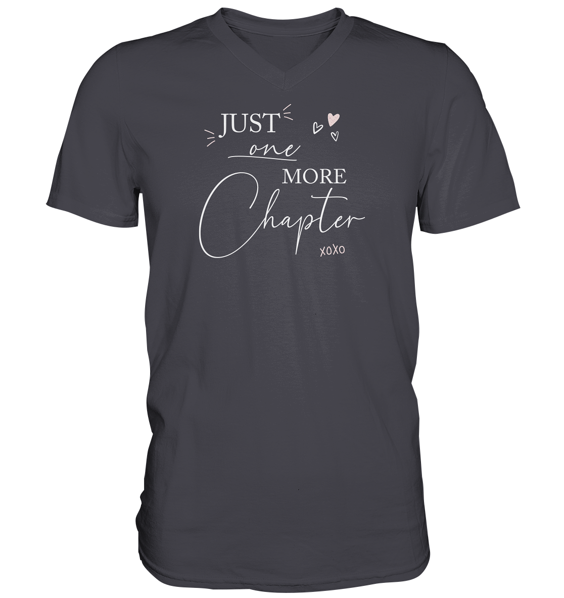 Just one more Chapter. white - Mens V-Neck Shirt