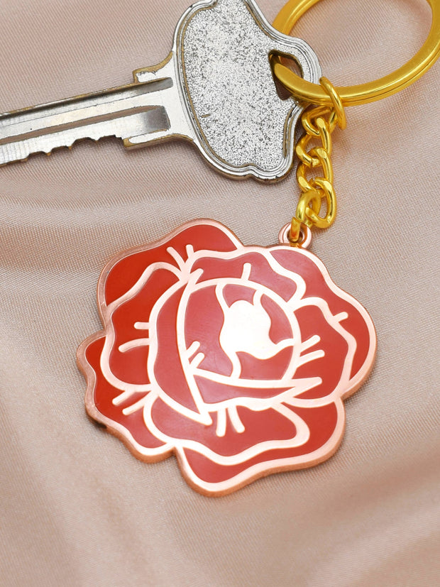Red Rose Keychain 1