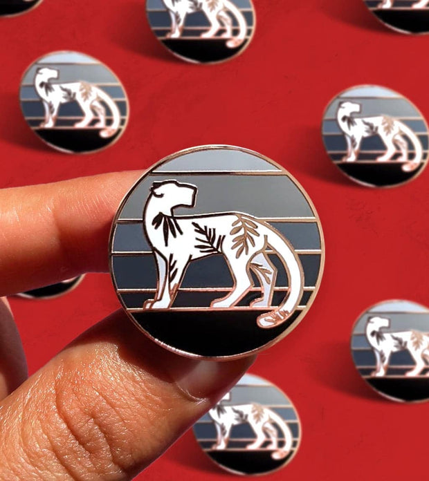 Jungle Puma Pin 1
