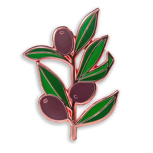 Olive Branch Peace Pin