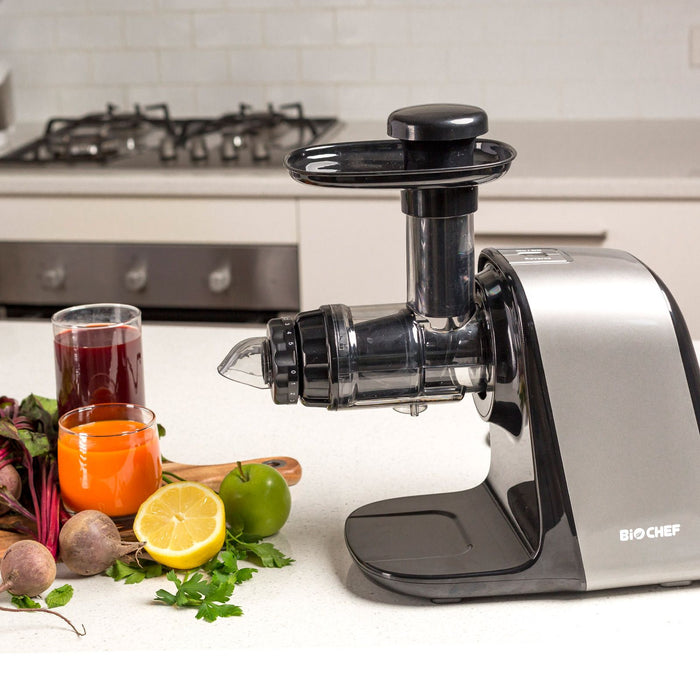 Axis - Compact, Cold Press, Masticating, a Complete Juicer - WHITE