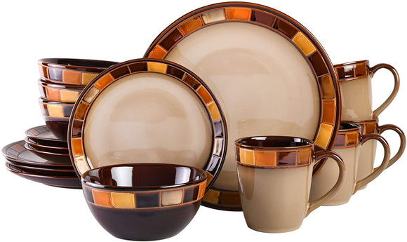 Estebana 16-piece Dinnerware Set Service for 4