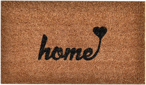 Woven Door Mat All Natural Coir - Extra Thick - 36 x 24 inch - Home