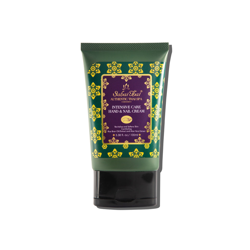 SABAI THAI Intensive Rice Milk Hand & Nail Cream, 100ml