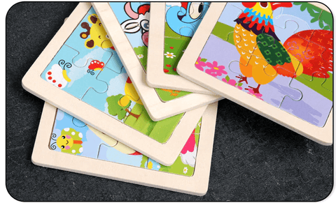 children puzzle child game educational games for children wooden puzzles wood Toy Kids