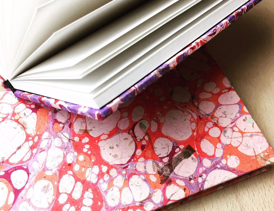 HAND MARBLED PAPERS - by Josie.graphics