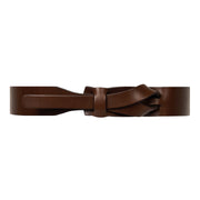 Muse Leather Belt Brown - the store London