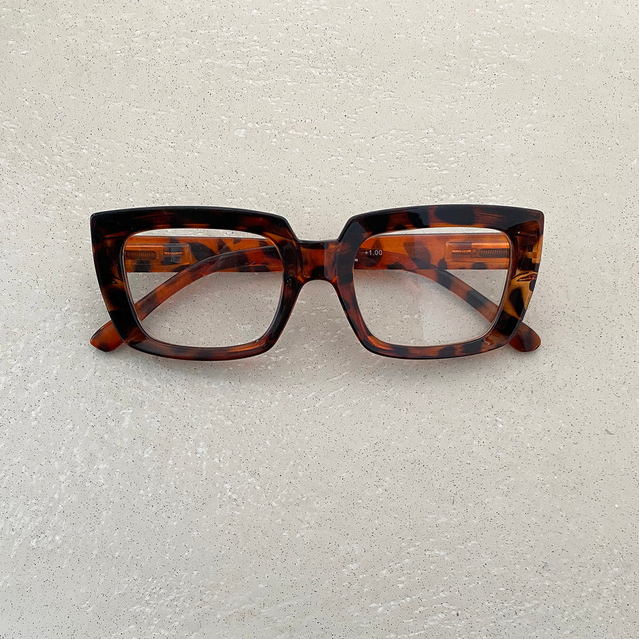 by LC Studio Tortoise  Reading glasses - the store London