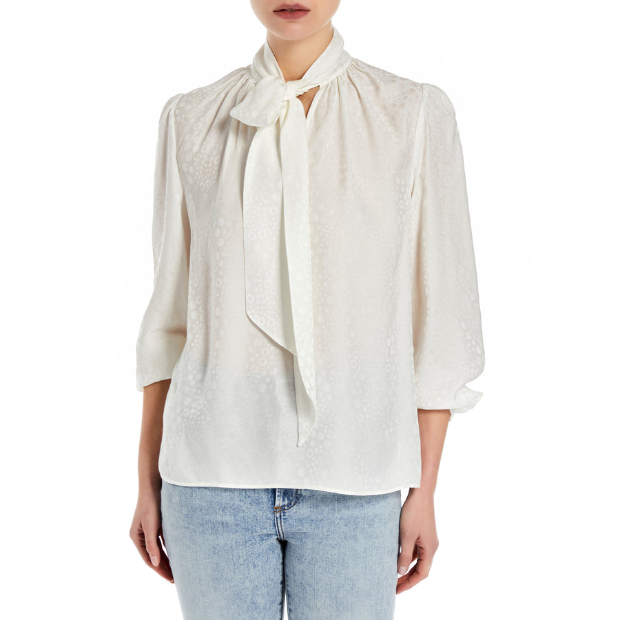 summerstories Dots Blouse Withe - the store London