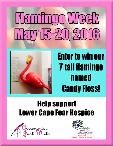 celebrate our 3rd annual flamingo week!