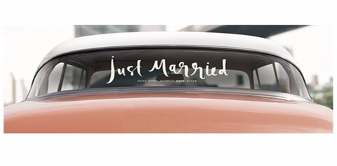 Kate Spade New York Bridal Decal