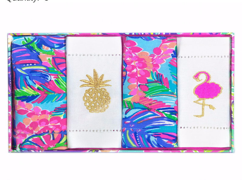 Lilly Pulitzer Cocktail Napkins - Exotic Garden