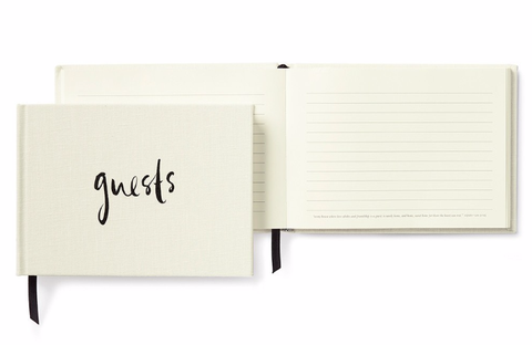 Kate Spade New York Guest Book - Well Wishes