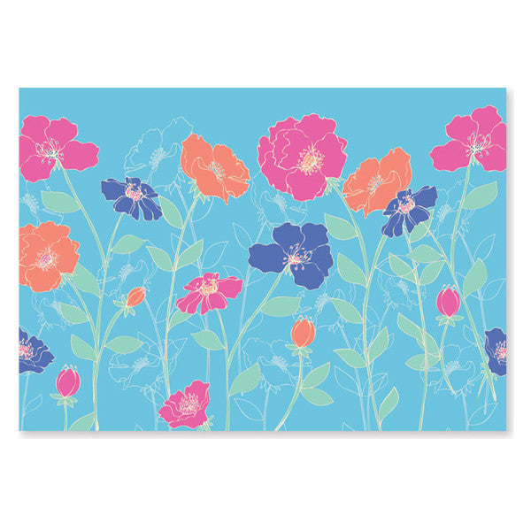 Peter Pauper Press Note Cards - Poppies
