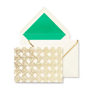 Kate Spade Notecards - Caning Card Set