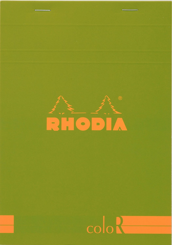 Rhodia Colored Notebook