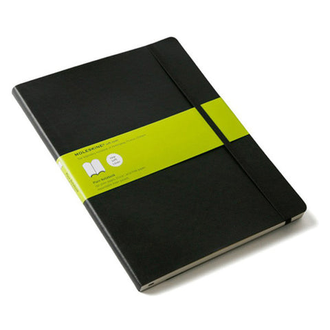 Moleskine Classic Notebook - Extra Large, Black, Plain, Soft Cover