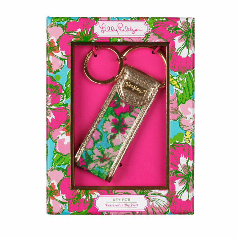 Lilly Pulitzer Key Fob - Big Flirt