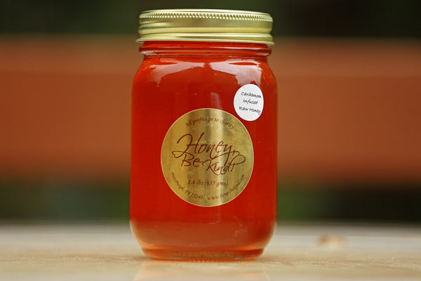 Raw Honey -  Cardamom Infused