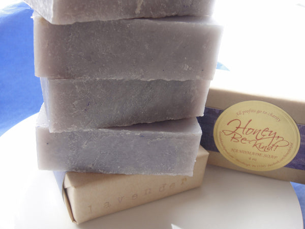 Soap - Lavendar Purple (Vegan & All Natural)
