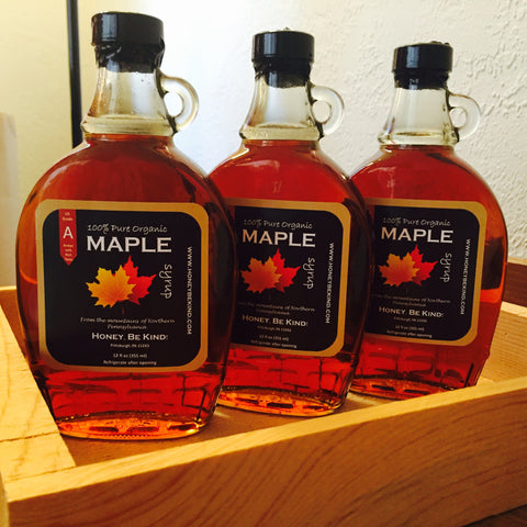 Organic Maple Syrup- Glass bottle: not eligible for shipping