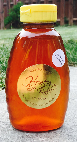 Raw Honey - Goldenrod