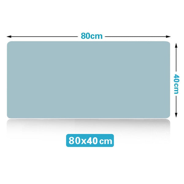 Large Mouse Pad Extra Big Non-Slip Desk Pad Waterproof PVC Leather Desk Table Protector Gaming Mouse Mat for Game Office Work