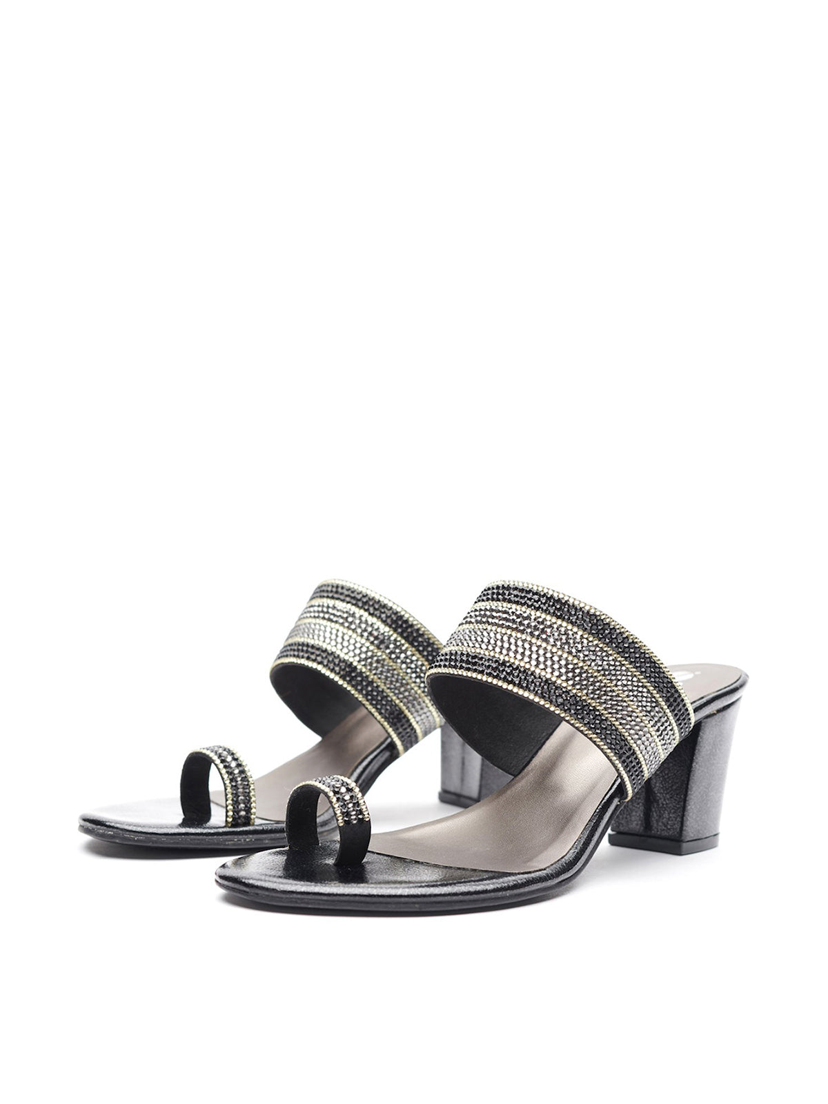 Diamond Toe Ring Slides