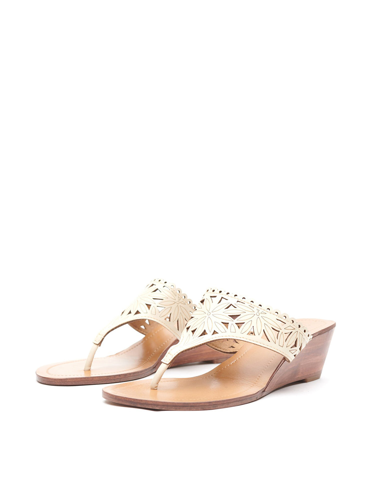 Lasercut Floral Wedges