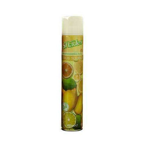 Shades Citrus Air Fresh 400Ml Case 12