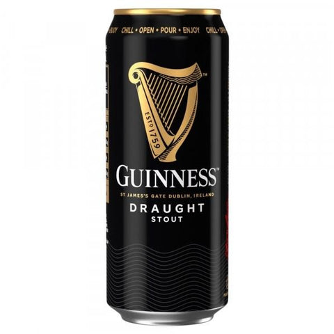 Guinness Draught Can 440Ml Case 24