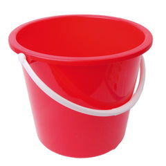 RS Bucket Plastic Red 10Ltr