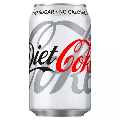 Coca Cola Diet 330Ml Case 24