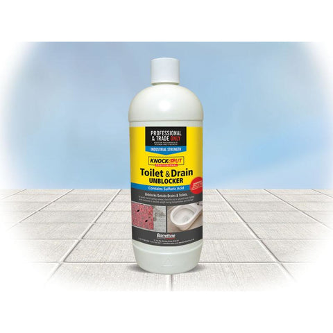 Knockout Drain Cleaner 1Ltr