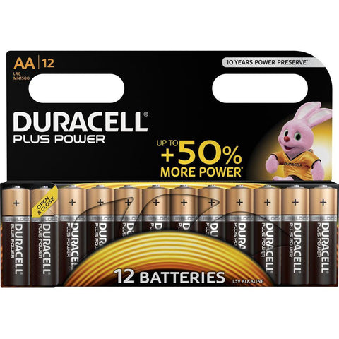 Duracell Plus Power AA Pack 12