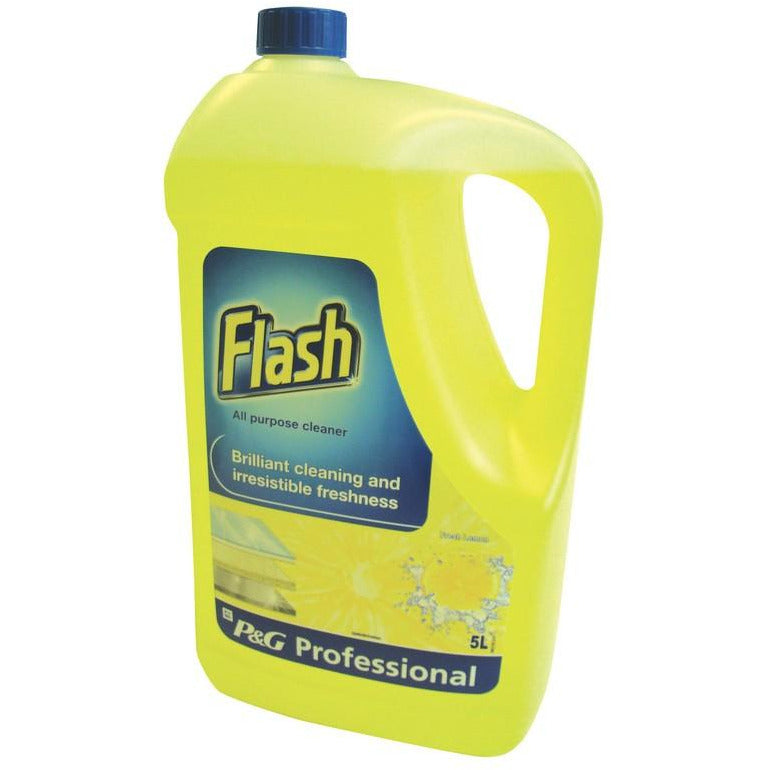 Flash Prof All Purpose Lemon 5Ltr Case 2