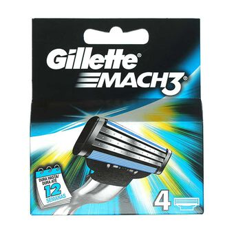 Gillette Mac 3 Blades Pack 4