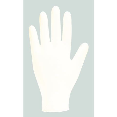 Latex Gloves Medium White GD45 Box 100