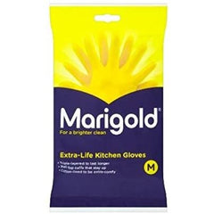 Marigold Gloves Medium Pack 6