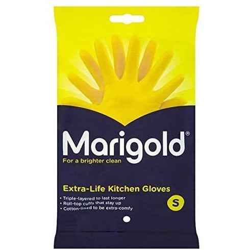 Marigold Gloves Small Pack 6