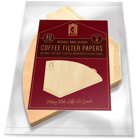 Melitta Four Cup Filter Papers Pack 40