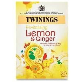 Twinings Infusion Lemon&Ginger Pack 20