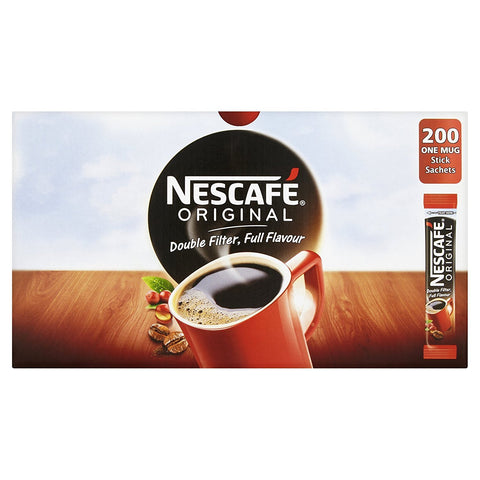 Nescafe Coffee Sticks Case 200