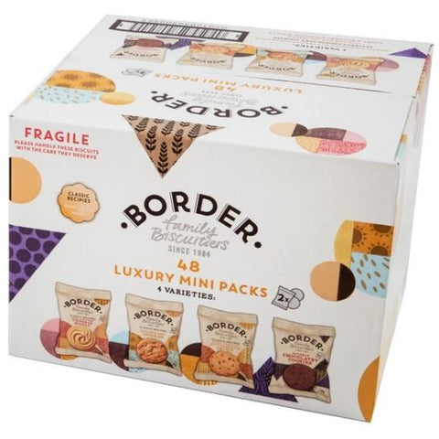 Border Luxury Mini Pack Biscuits Pack 48
